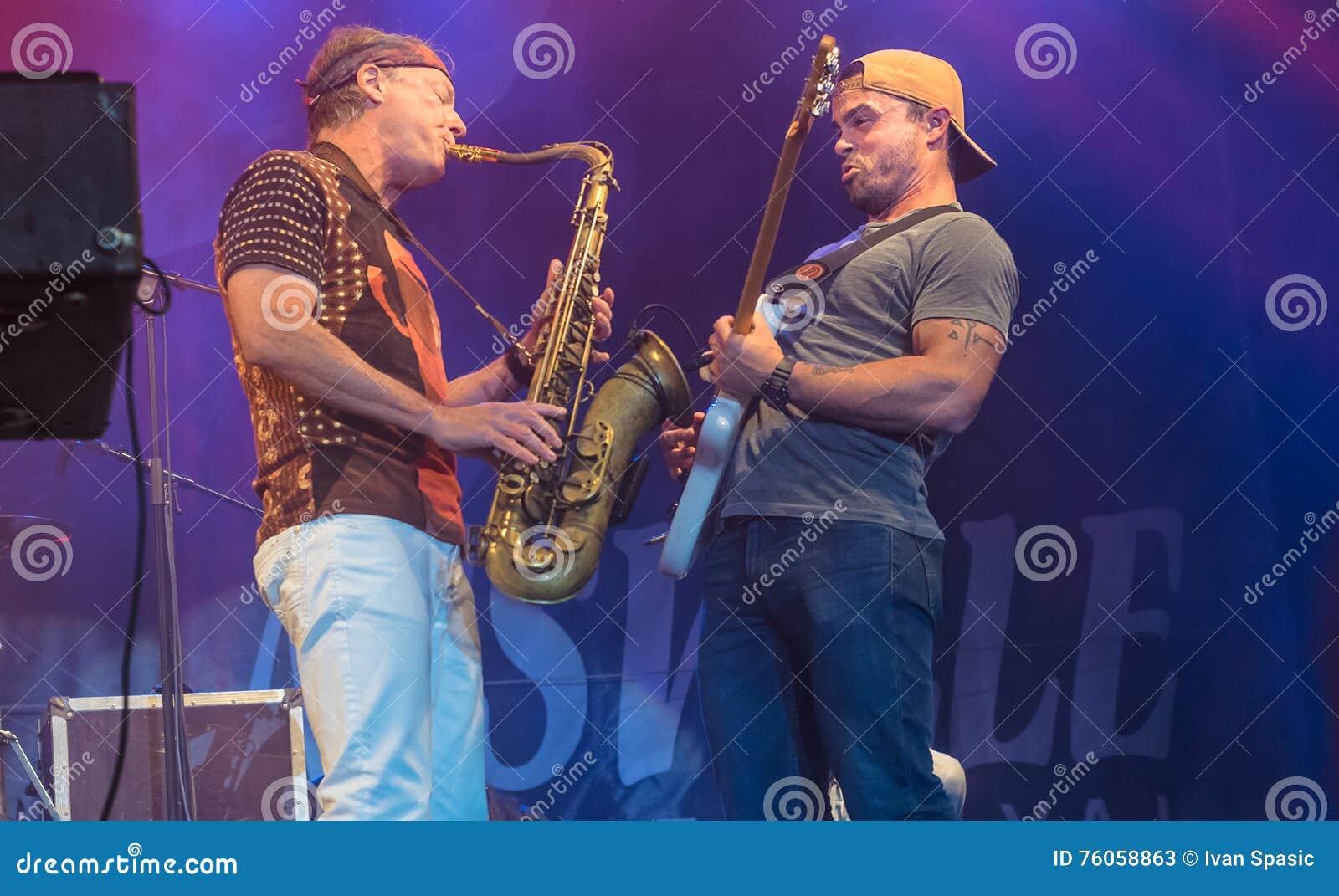 American Jazz Saxophonist Bill Evans Live At Nisville Jazz