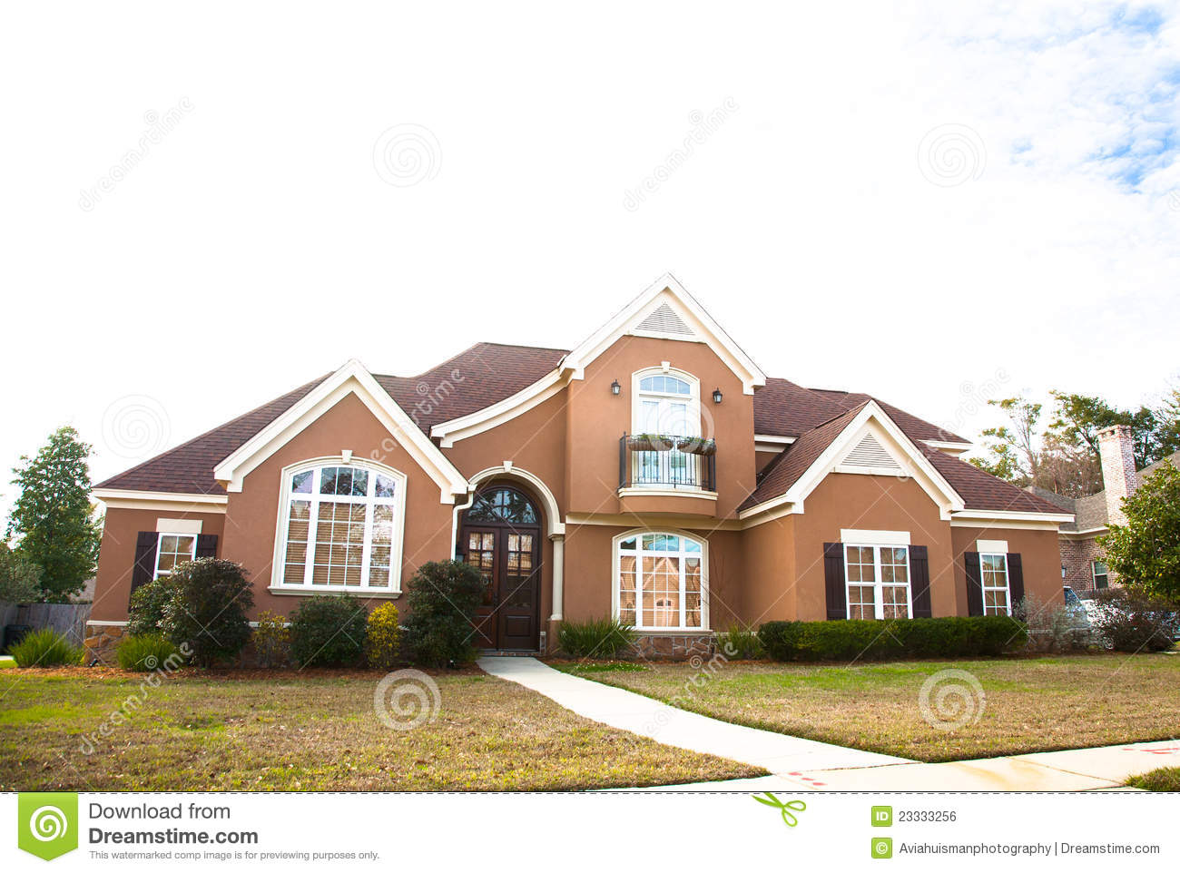 american luxury home royalty free stock image image