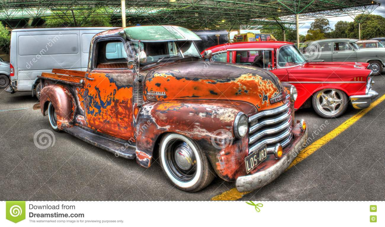 american made chevy pickup truck editorial photography image 75963907. Black Bedroom Furniture Sets. Home Design Ideas