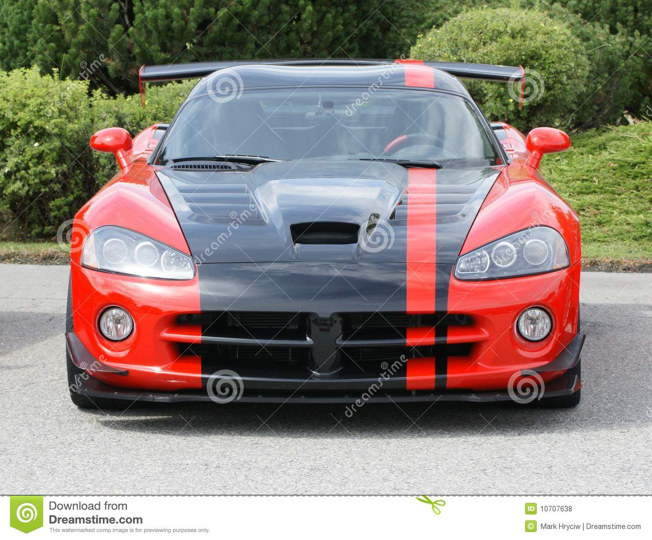 American Muscle Car Red Stock Photo Image Of Muscle 10707638
