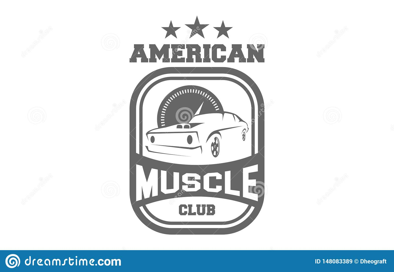 American Muscle Club Logo
