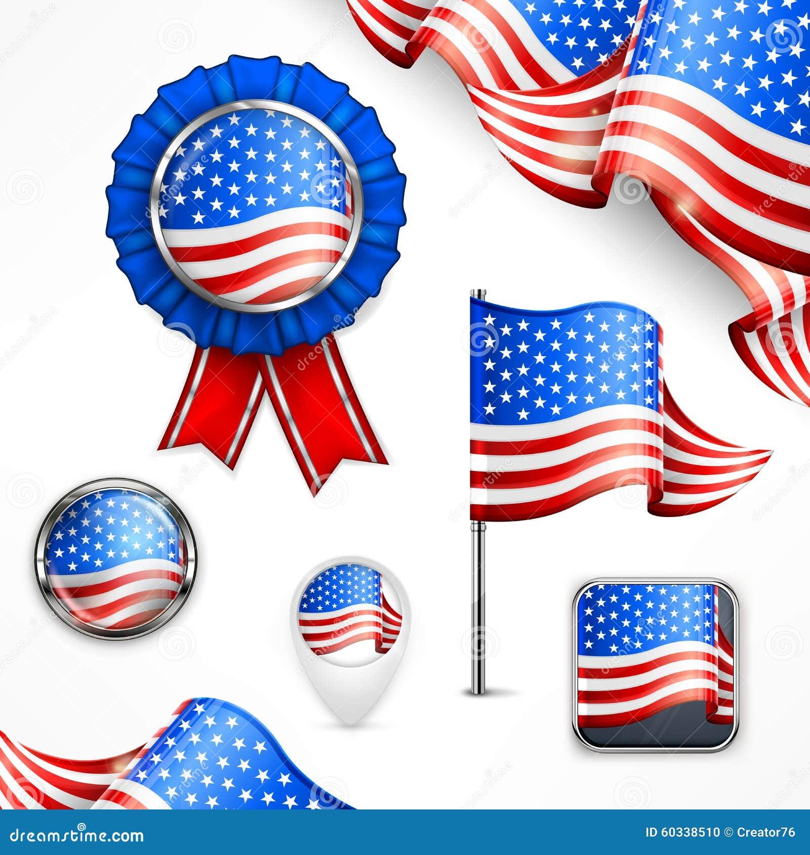 American national symbols stock vector illustration of flag american national symbols biocorpaavc