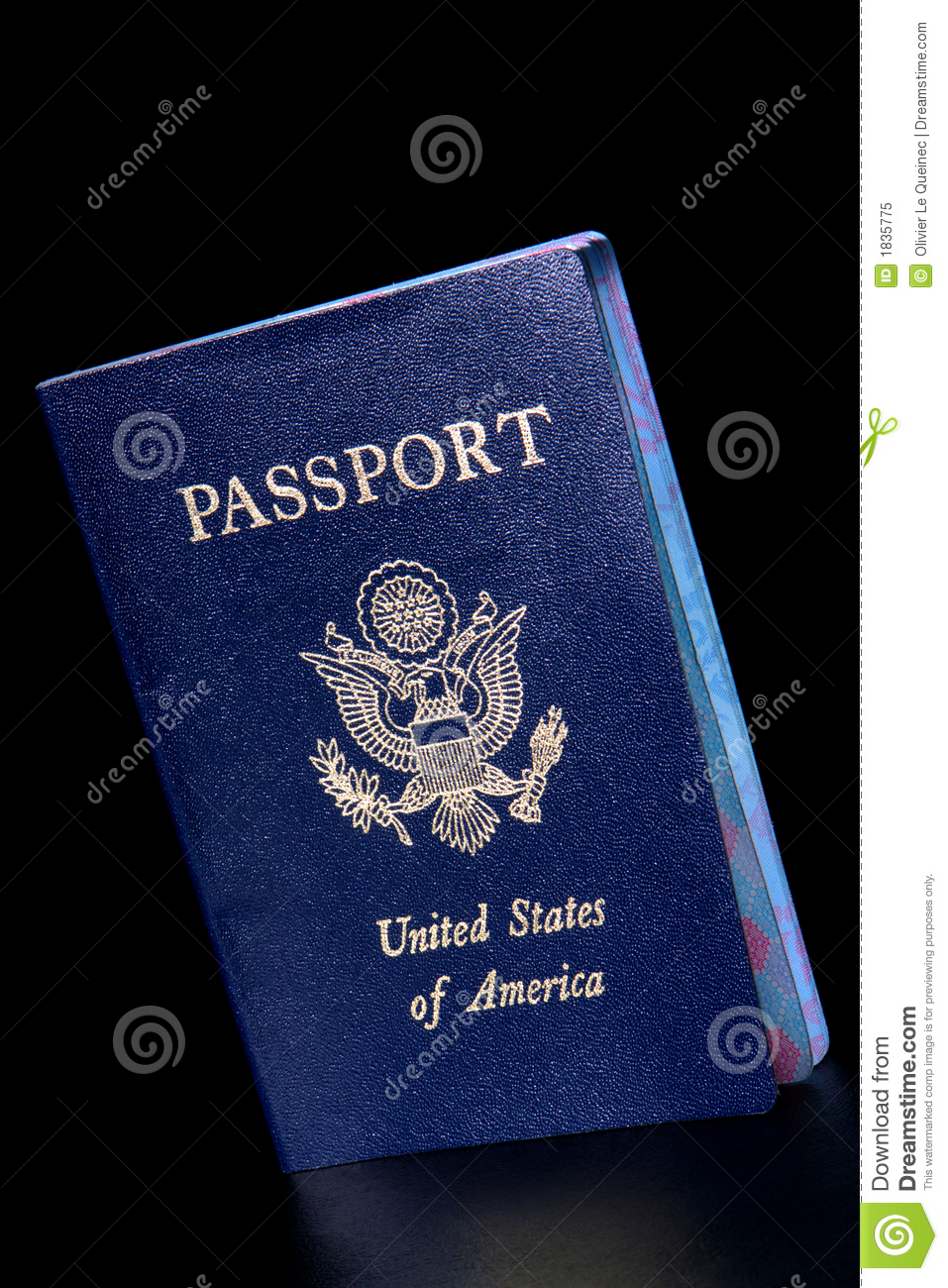 american nationality valid citizenship us passport royalty free