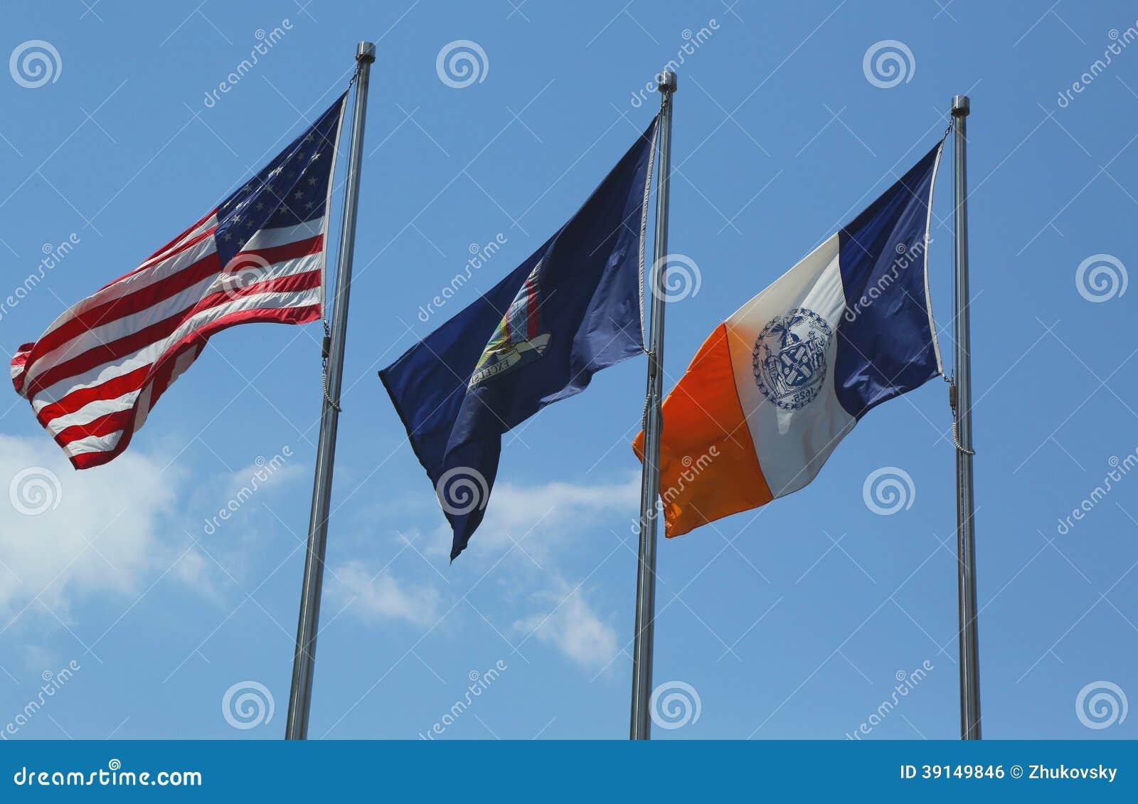 Moderno Colorear La Bandera De Nueva York Ideas - Ideas Para ...