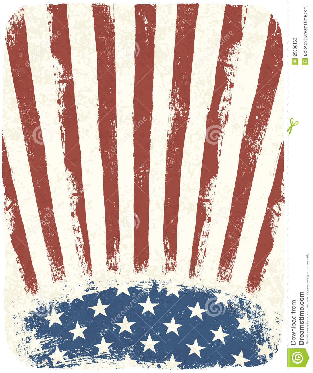 American Patriotic Poster Royalty Free Stock Photos ... American