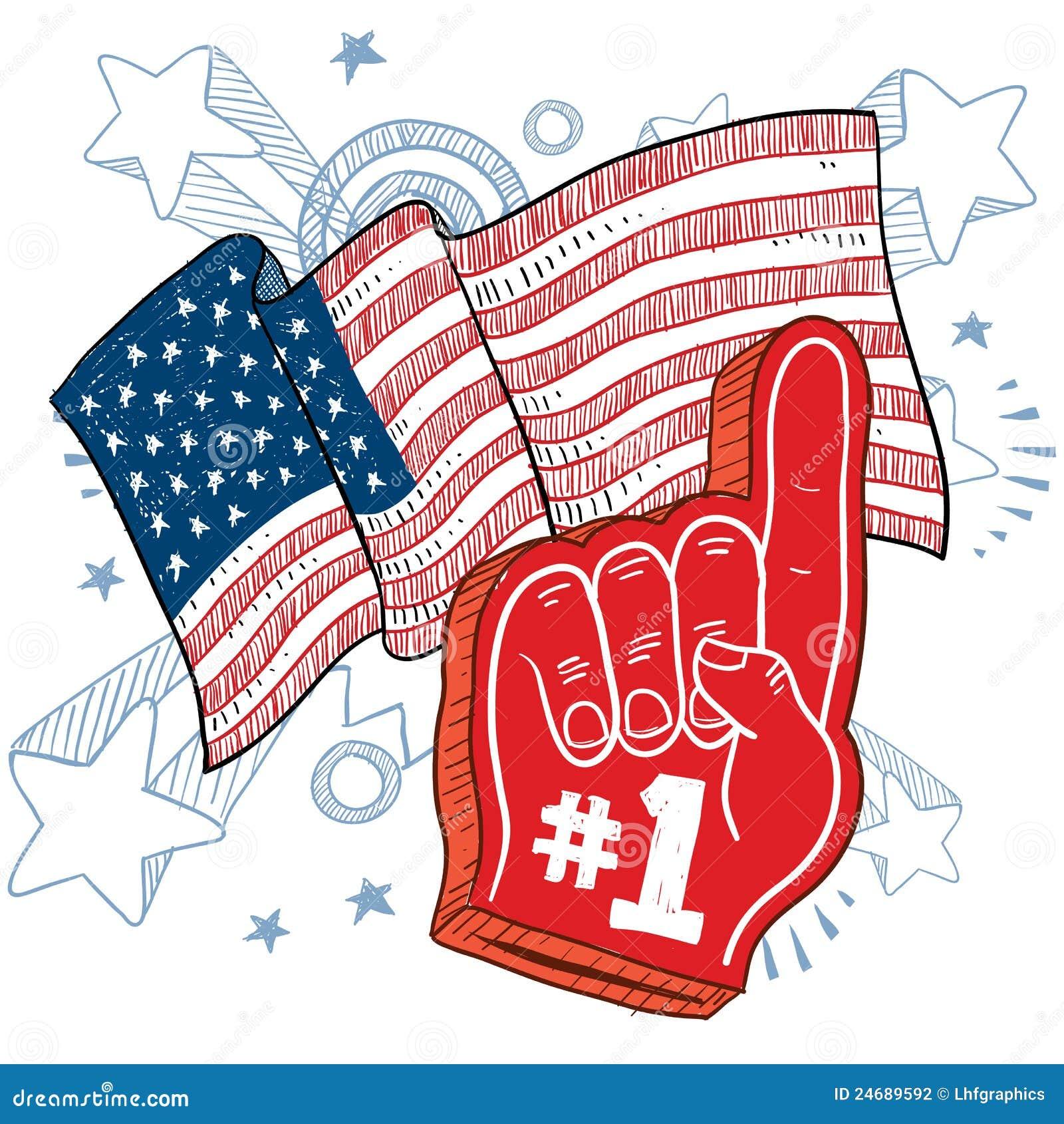 American Patriotism Vector Stock Photography Image 24689592