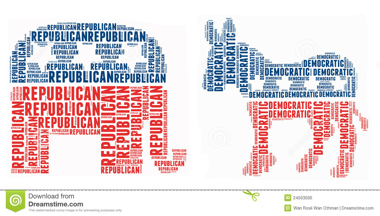 American Political Symbol Editorial Image Illustration Of America