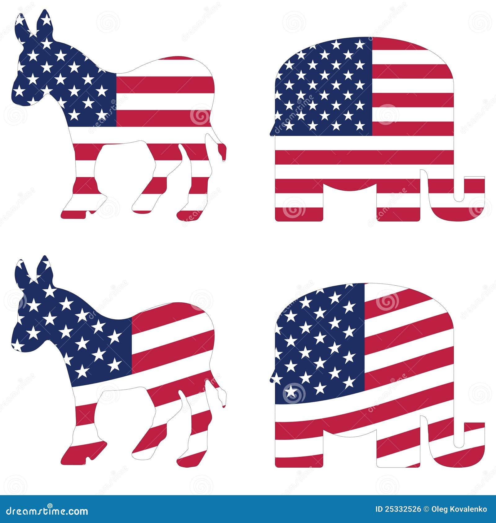 American Political Symbols Editorial Photo - Image: 25332526