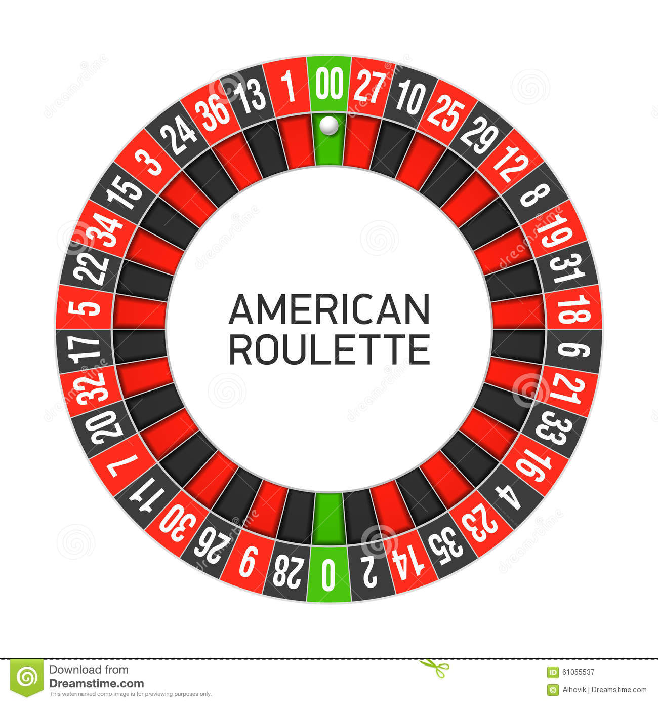 american roulette wheel photo