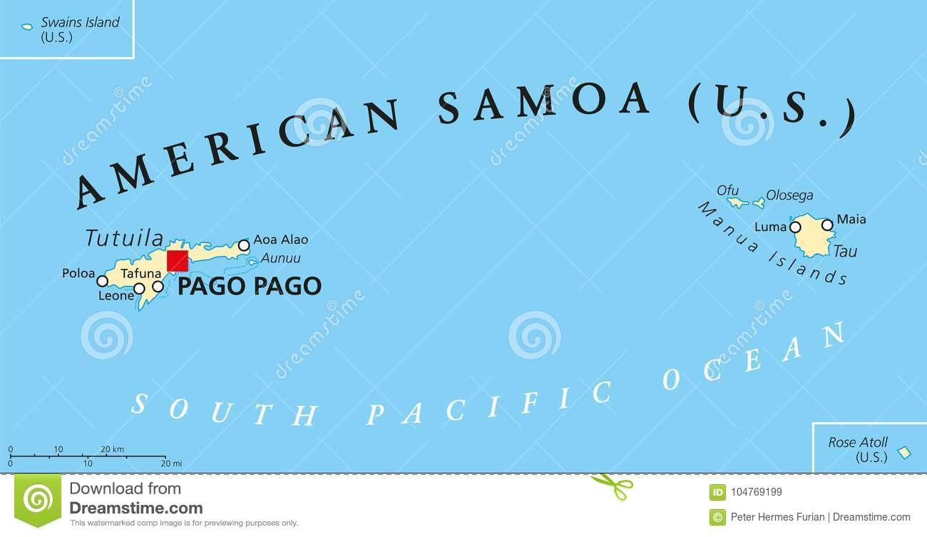 American Samoa Political Map Stock Vector - Illustration of ... on kwajalein atoll map, peruvian islands map, australia map, panama map, polynesian islands map, puerto rico map, columbia map, samoan flag, pago pago and the us map, samoa islands region map, swains island map, macedonian islands map, cuba map, western samoa map, pago pago on map, south african islands map, american samoa map, tokelau map, marshallese islands map, samoan island of upolu,