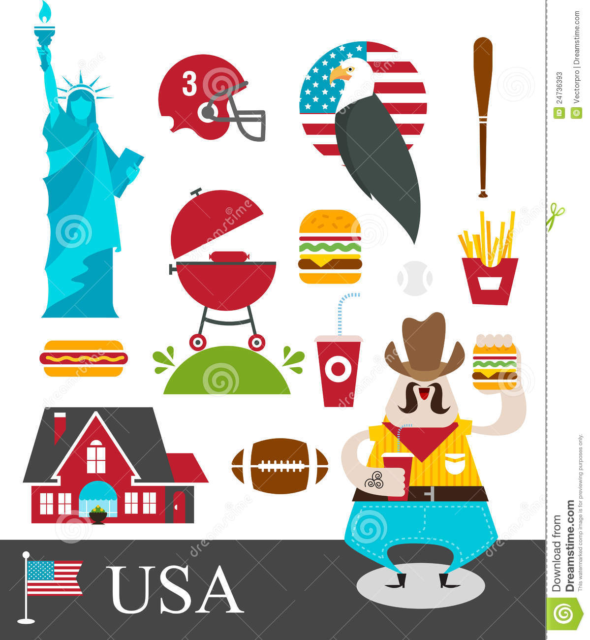 More similar stock images of ` American stereotypes `