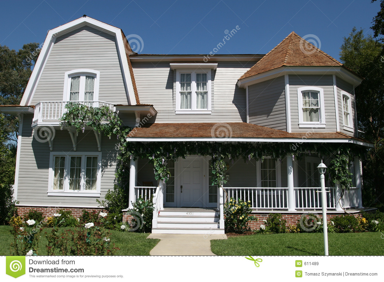 American style house royalty free stock images image 611489 for American style mansions