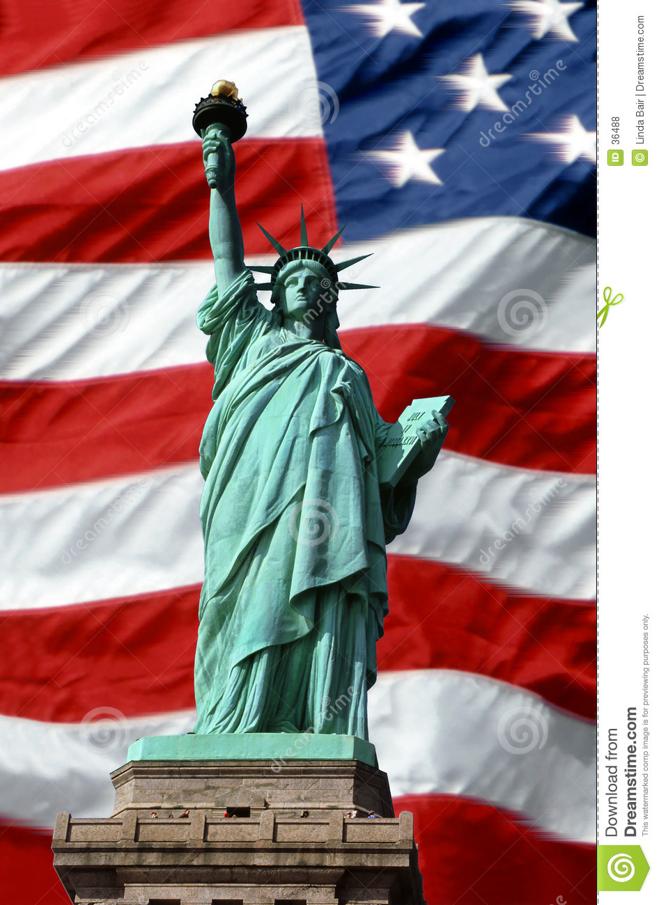 American Symbols Of Freedom Royalty Free Stock Photos - Image: 36488