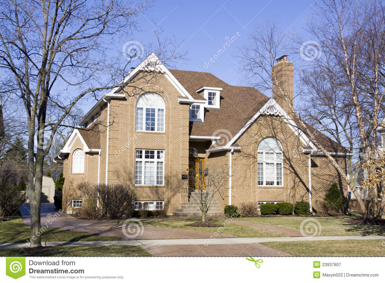 American traditional home royalty free stock photography for Traditional american home