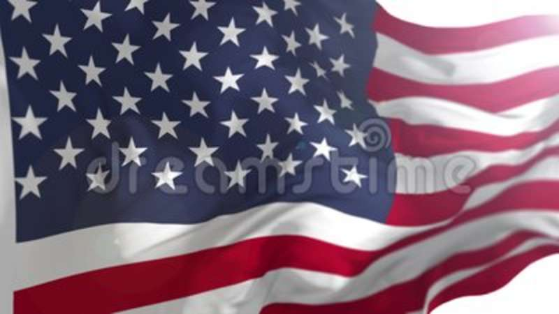 6756c24e28f American US Flag Animation stock footage. Video of simple - 127709742