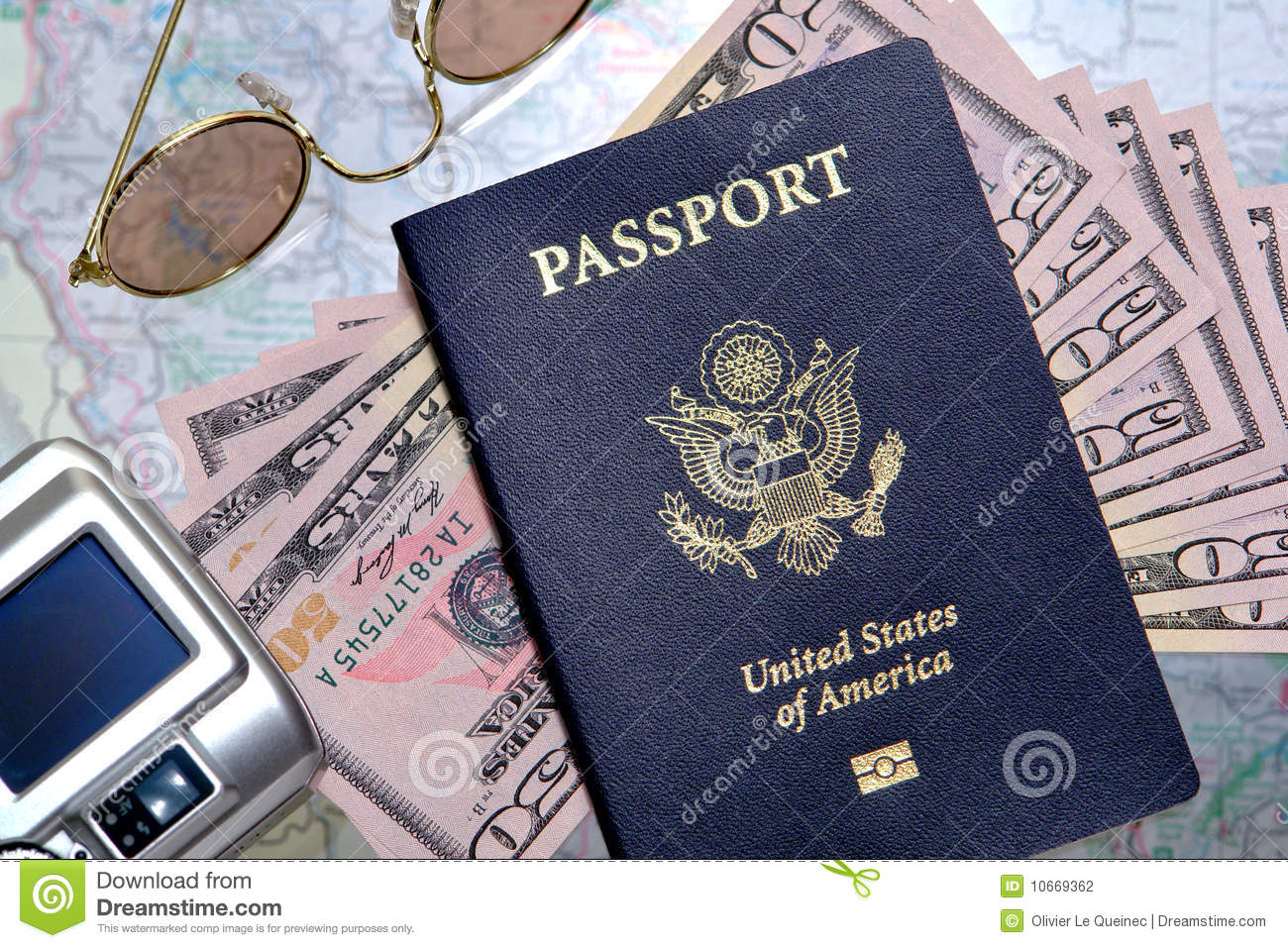 American Traveling To Canada Passport