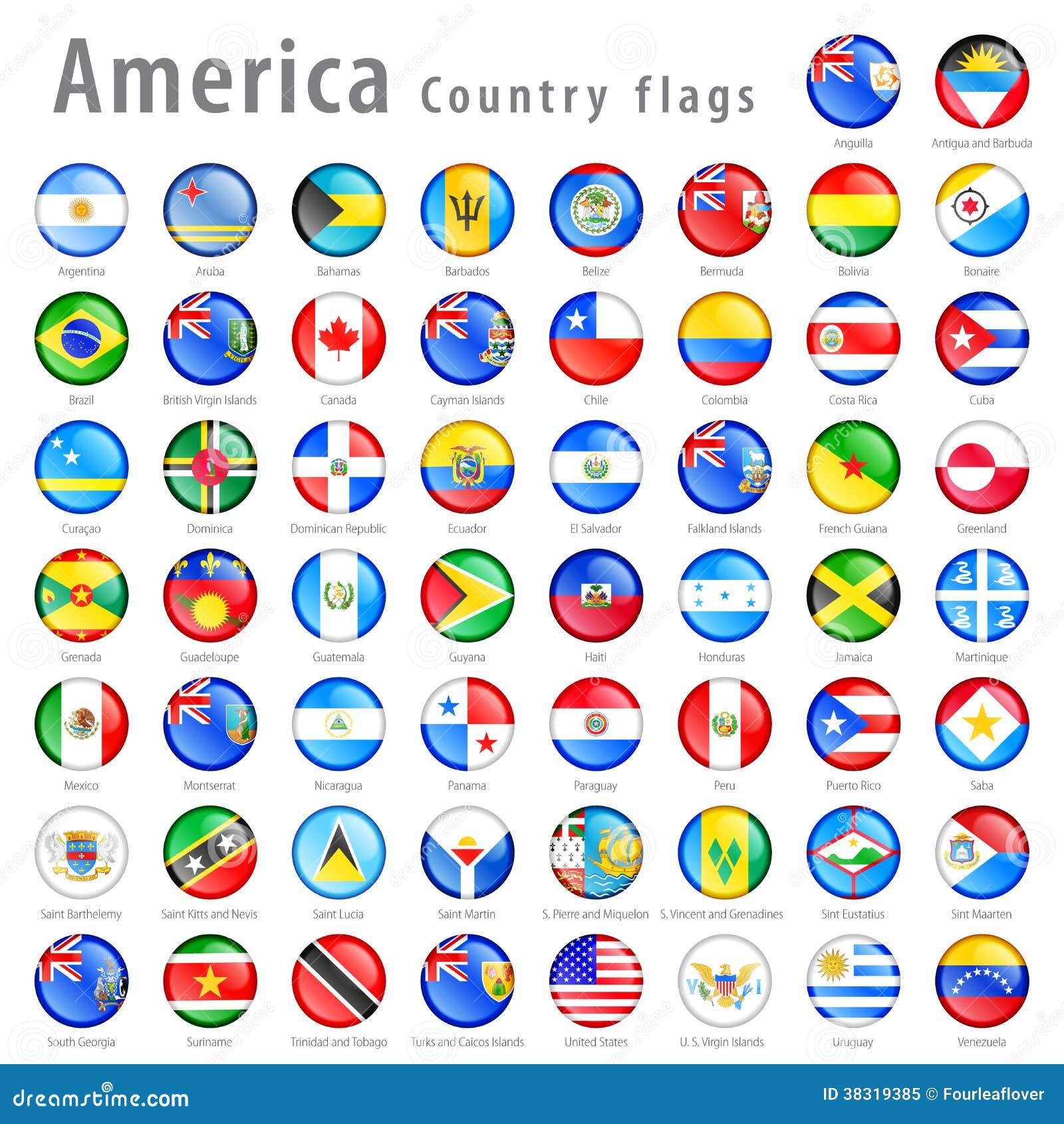 98c27638f8a4 American Vector Flag Button Set Stock Vector - Illustration of cuba ...