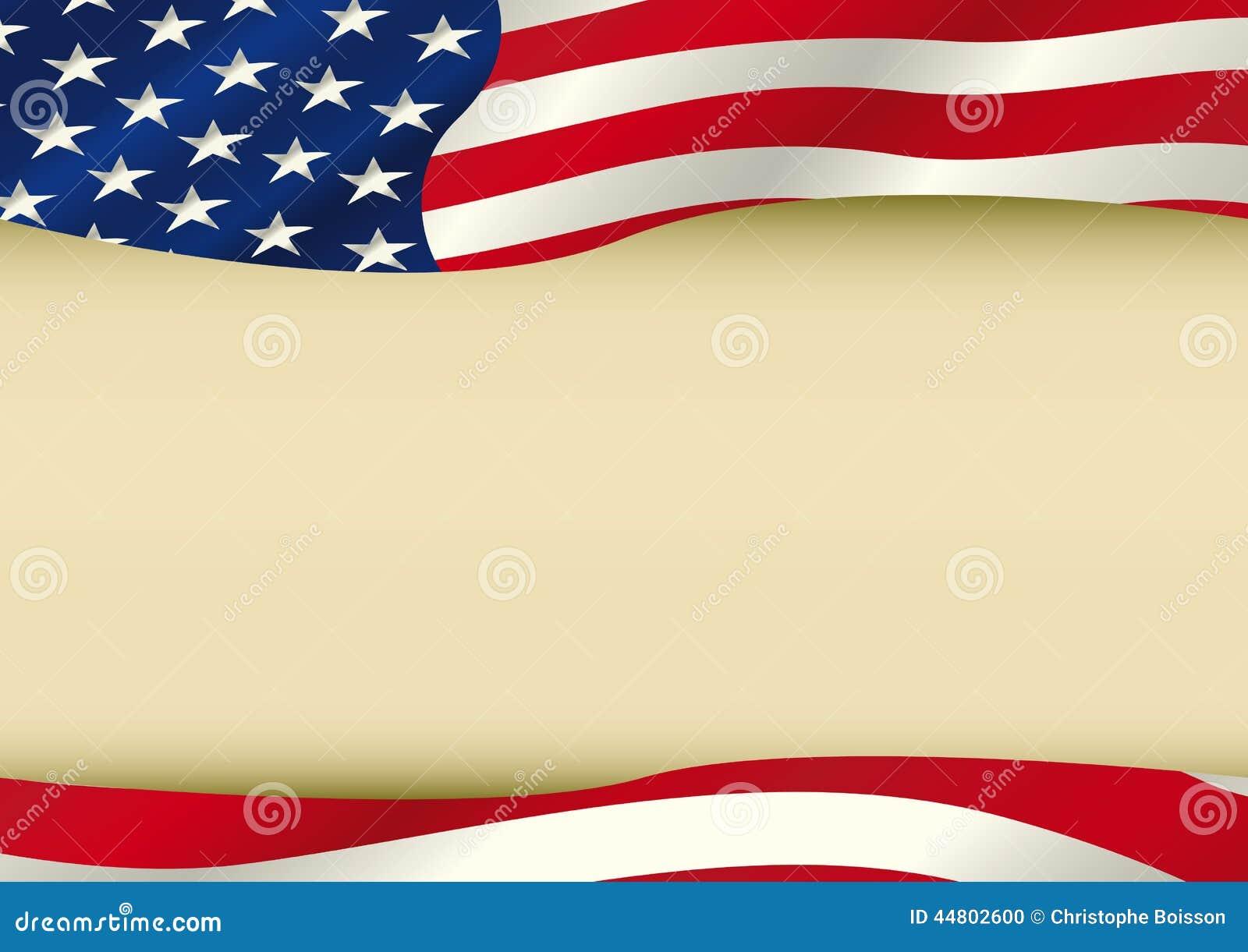 American Waving Flag Stock Photo Image 44802600