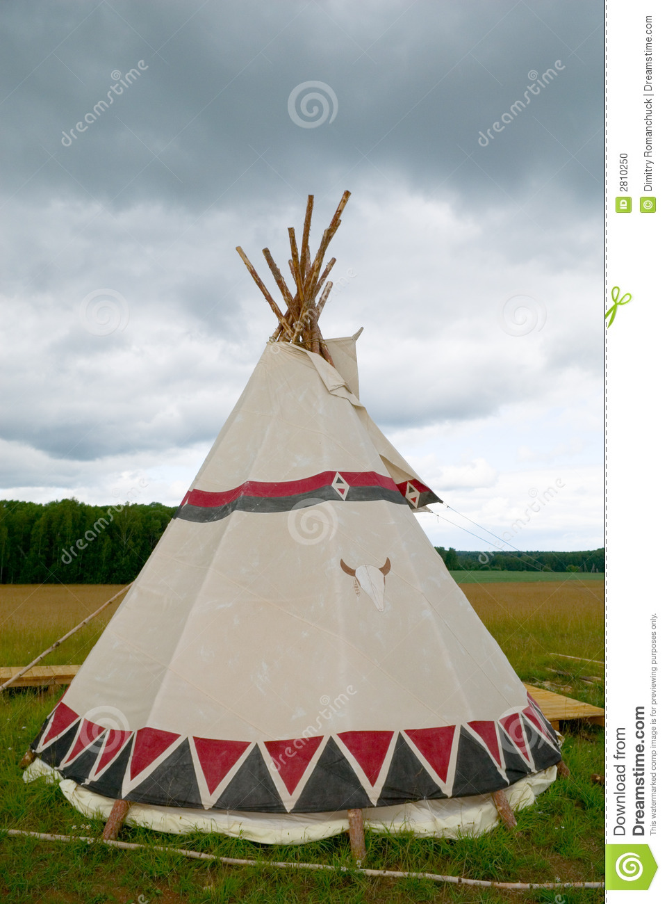American Wigwam Stock Photo - Image: 2810250