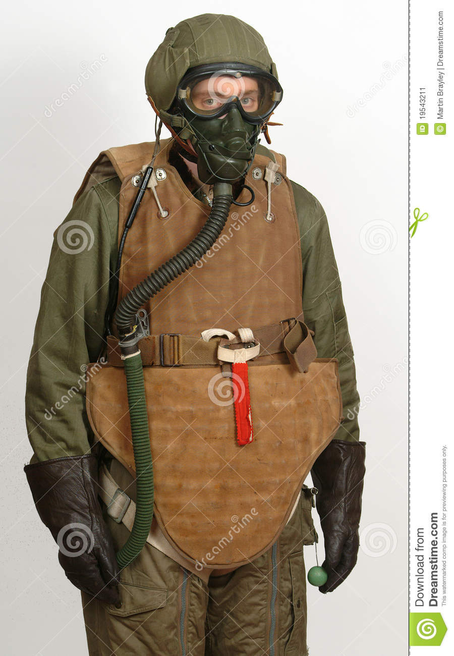 American Ww11 Aircrew Body Armor Stock Image Image Of