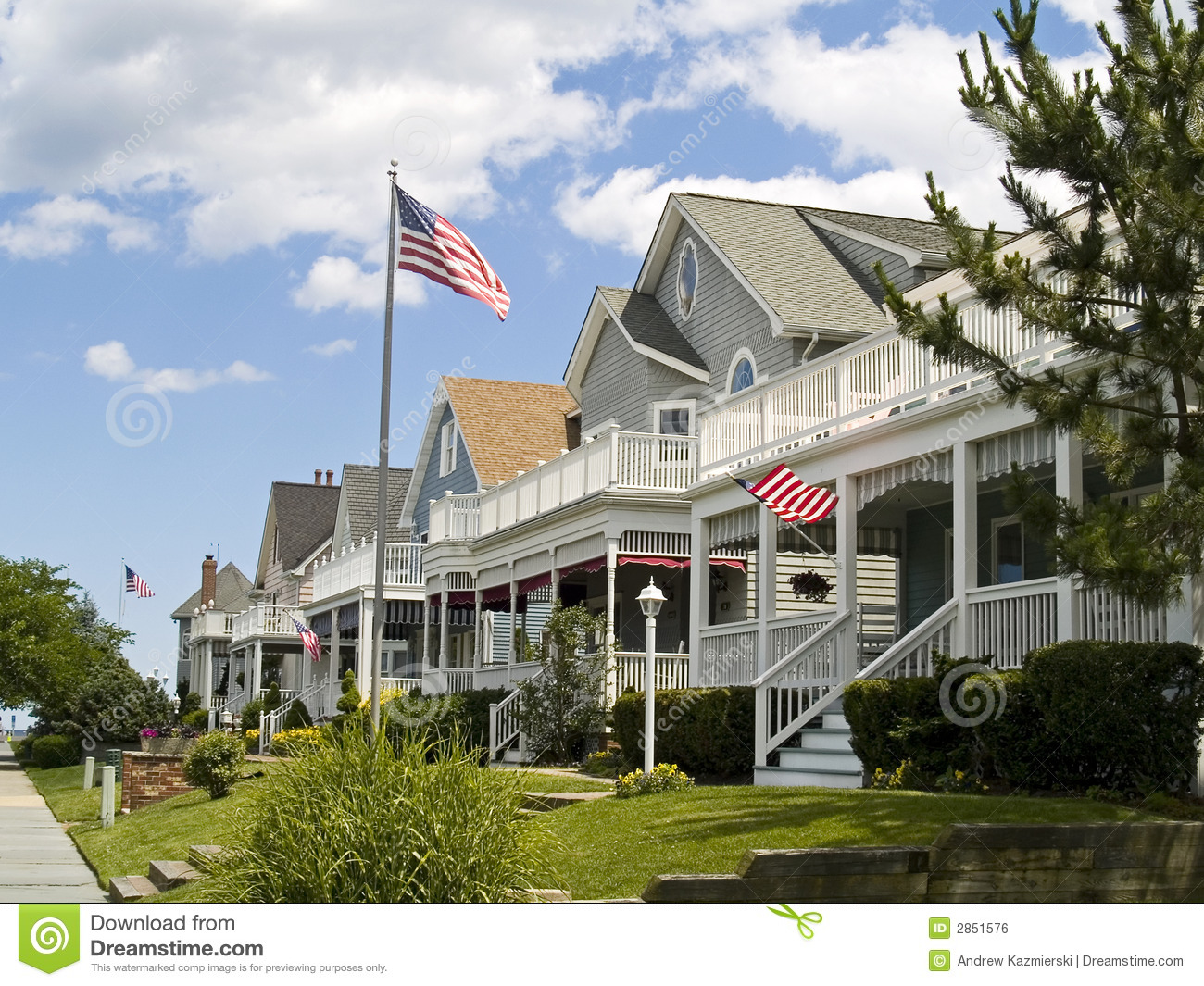 Americana royalty free stock image image 2851576 for Americana homes