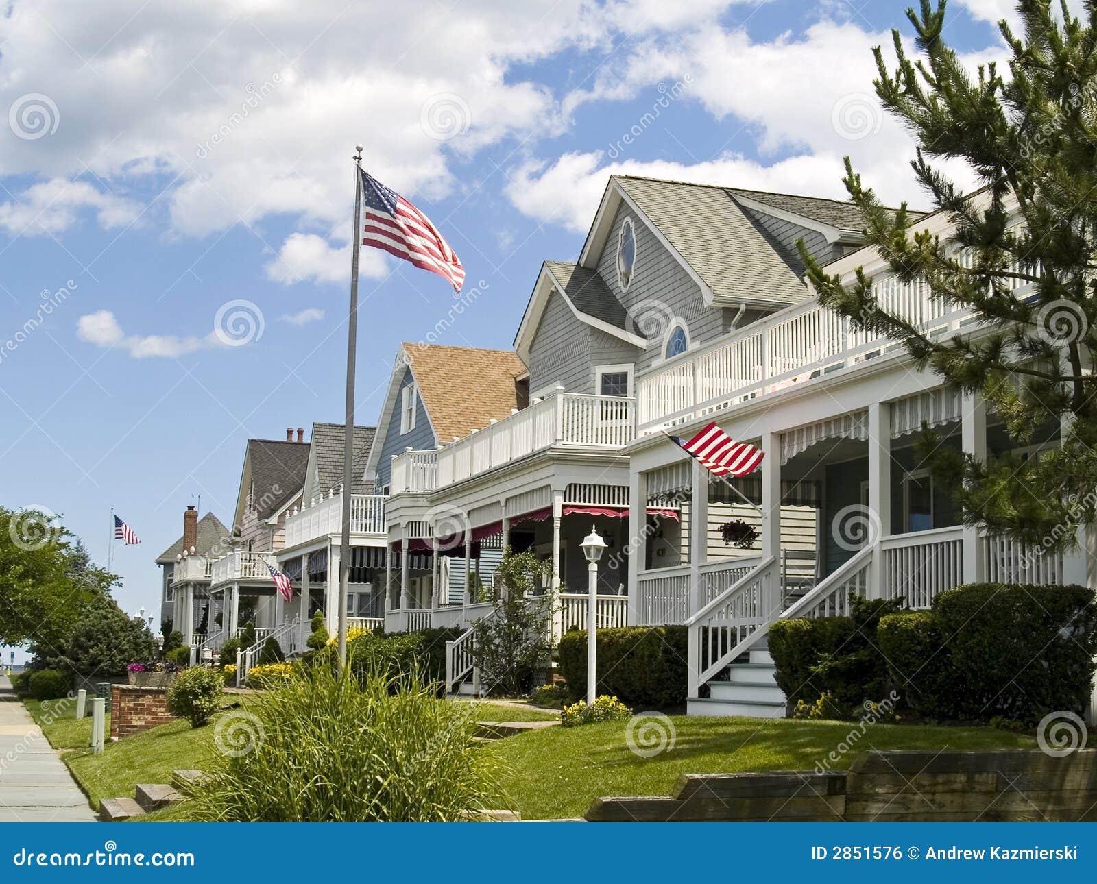 Americana royalty free stock image image 2851576 for Americana homes
