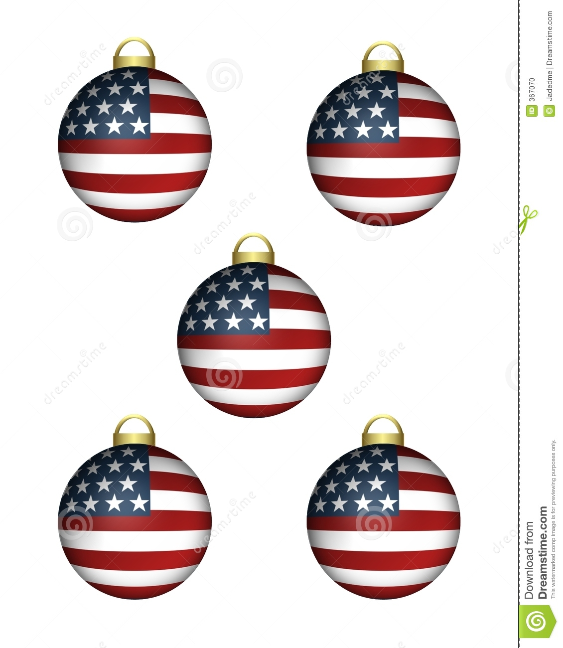 Americana christmas stock photo image 367070 for American christmas decorations