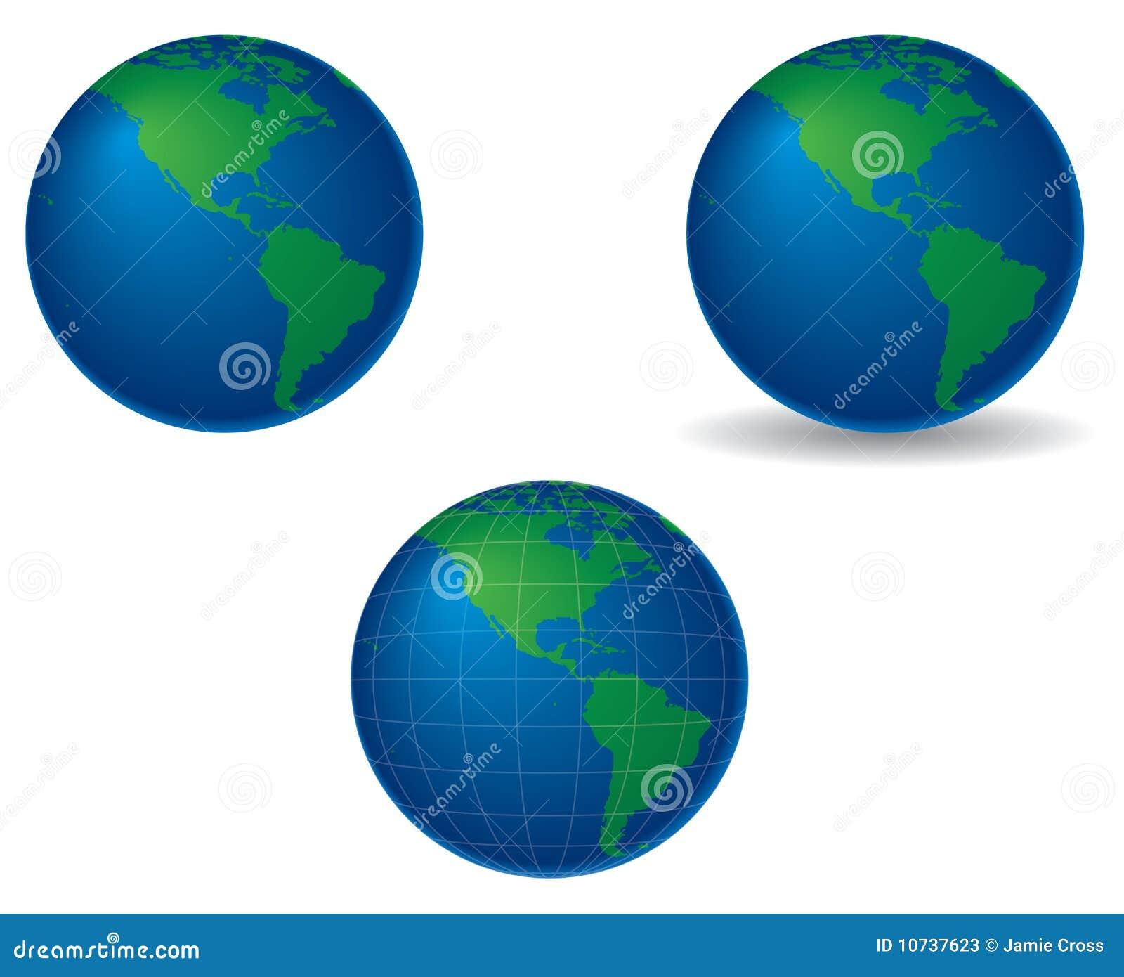 Americas jordklot