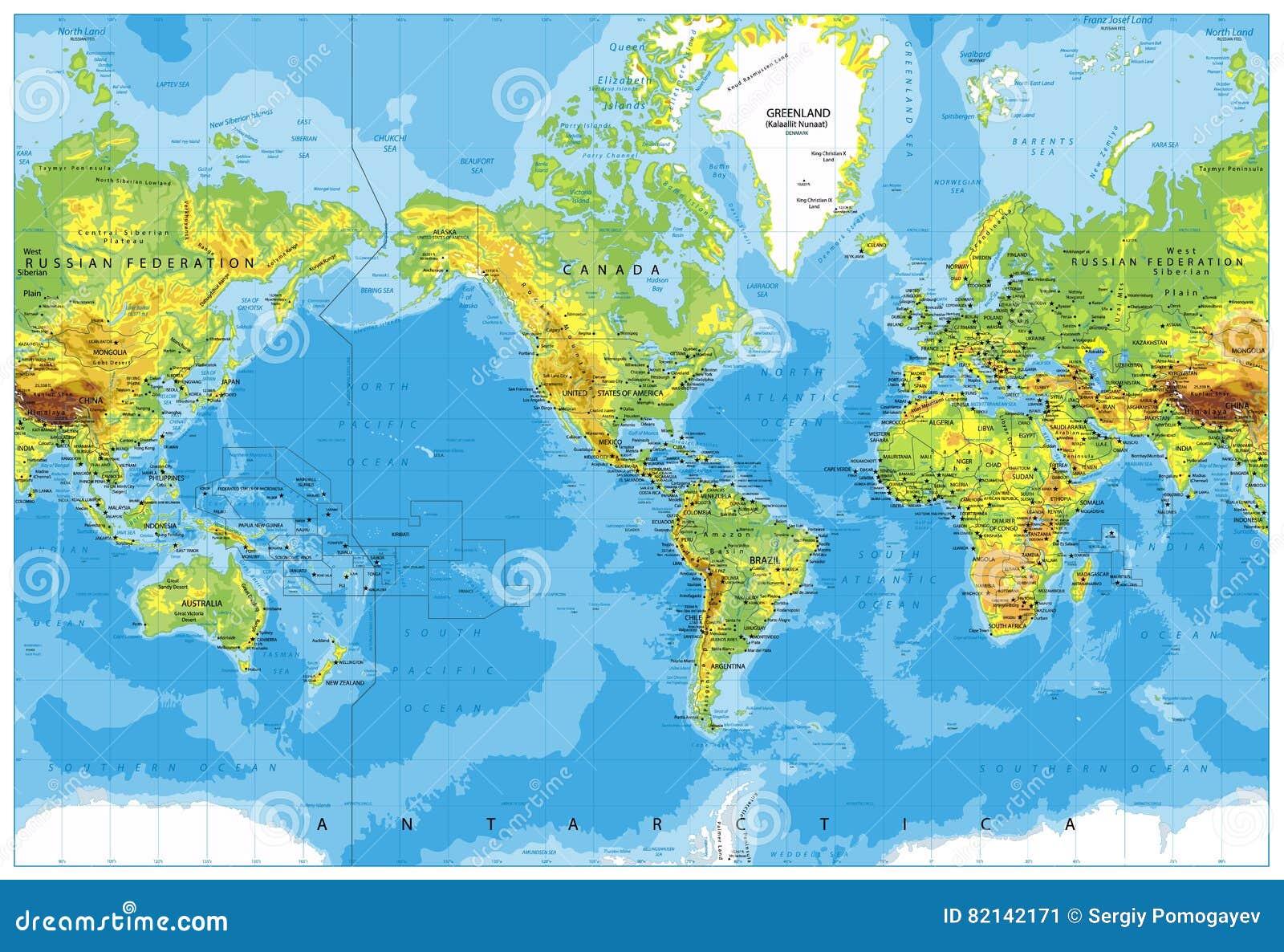 Weltkarte von amerika karte 2018 for Weltkarte mit fotos