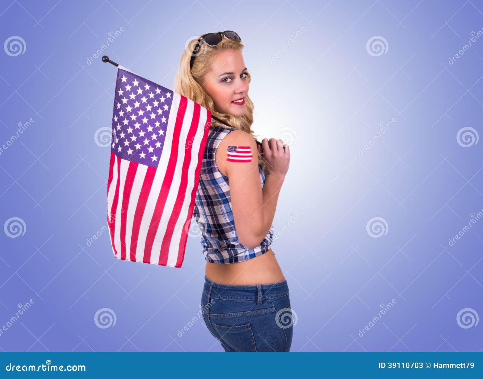 Amerikaans meisje