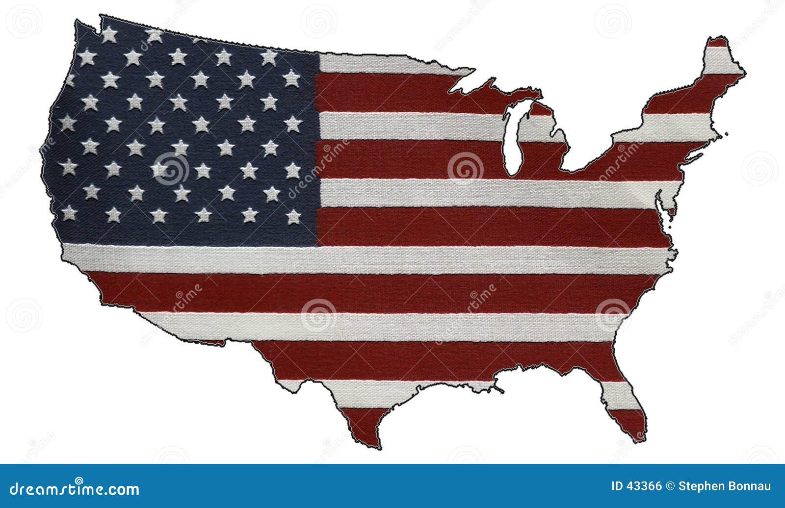 Download Amerikaans Patriottisme stock illustratie. Illustratie bestaande uit blauw - 43366