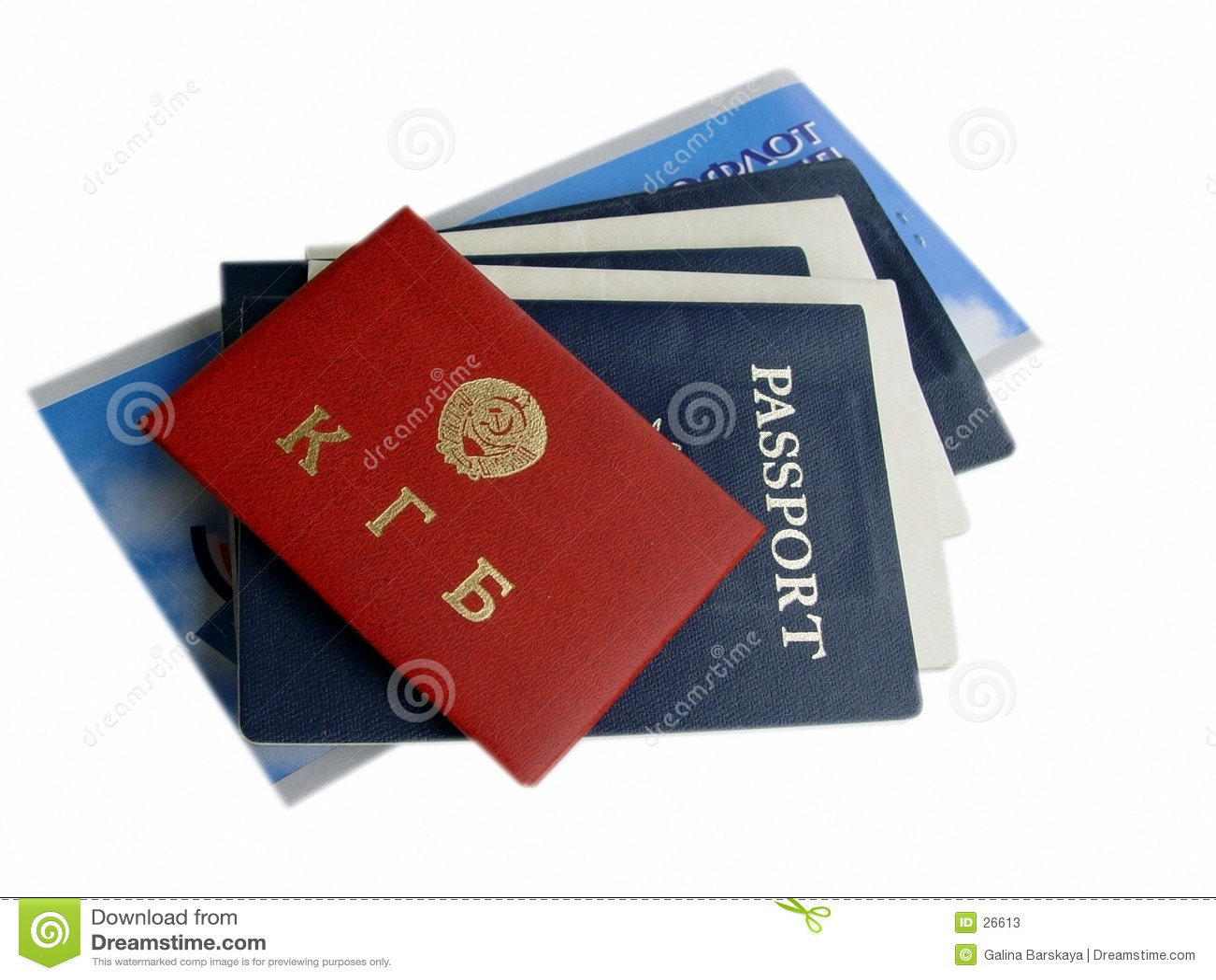 Amerikaanse & Russische geïsoleerde Documenten