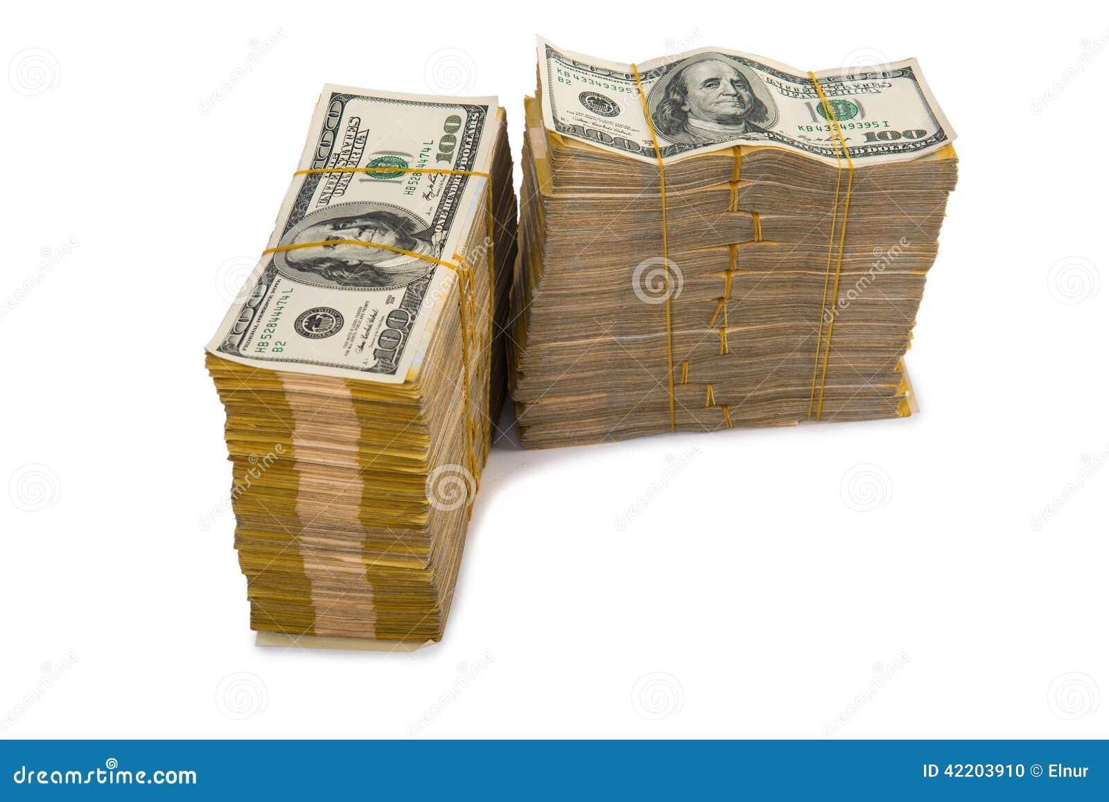 Amerikaanse dollarstapel