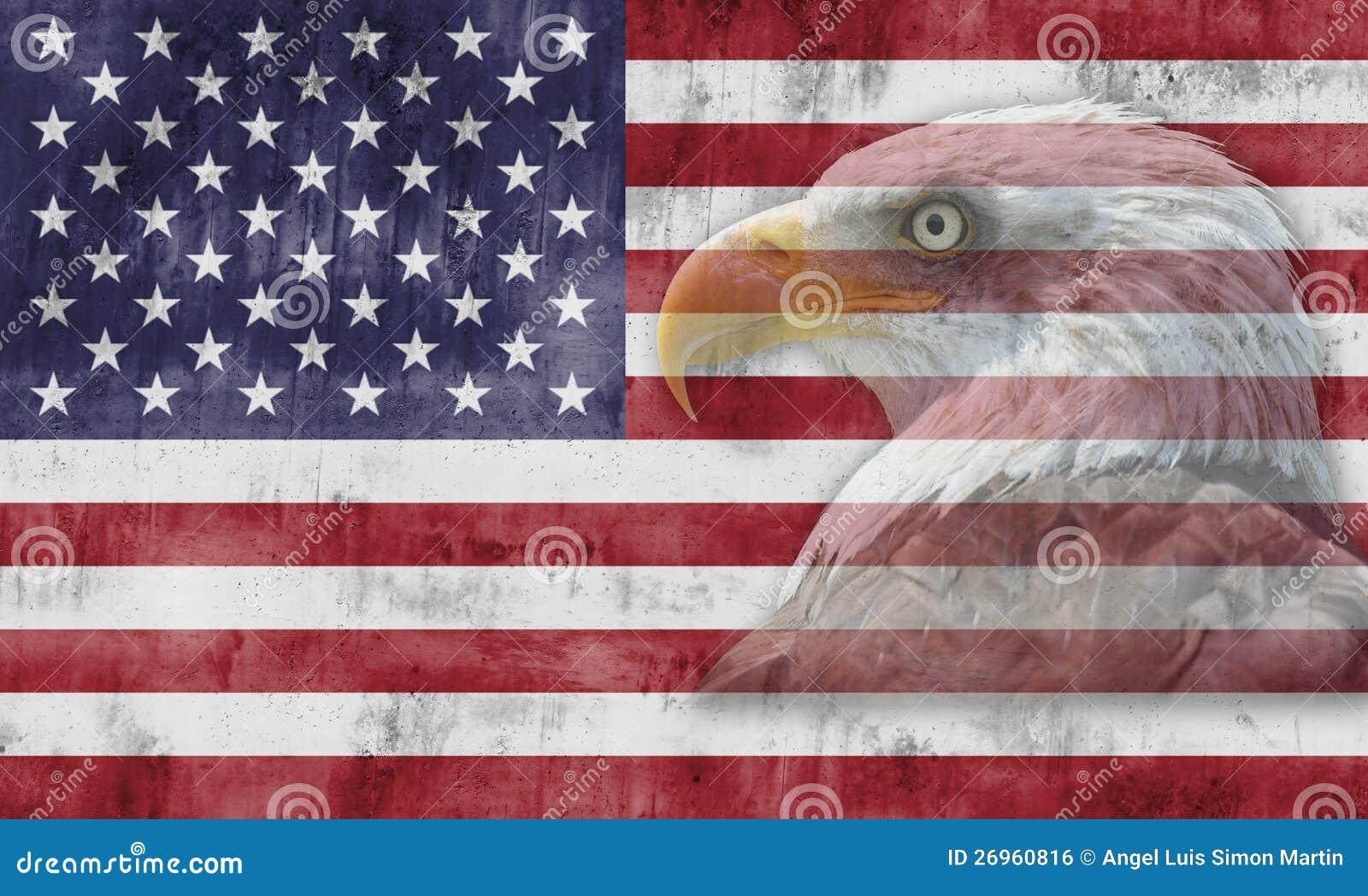 Amerikaanse vlag en patriottische symbolen