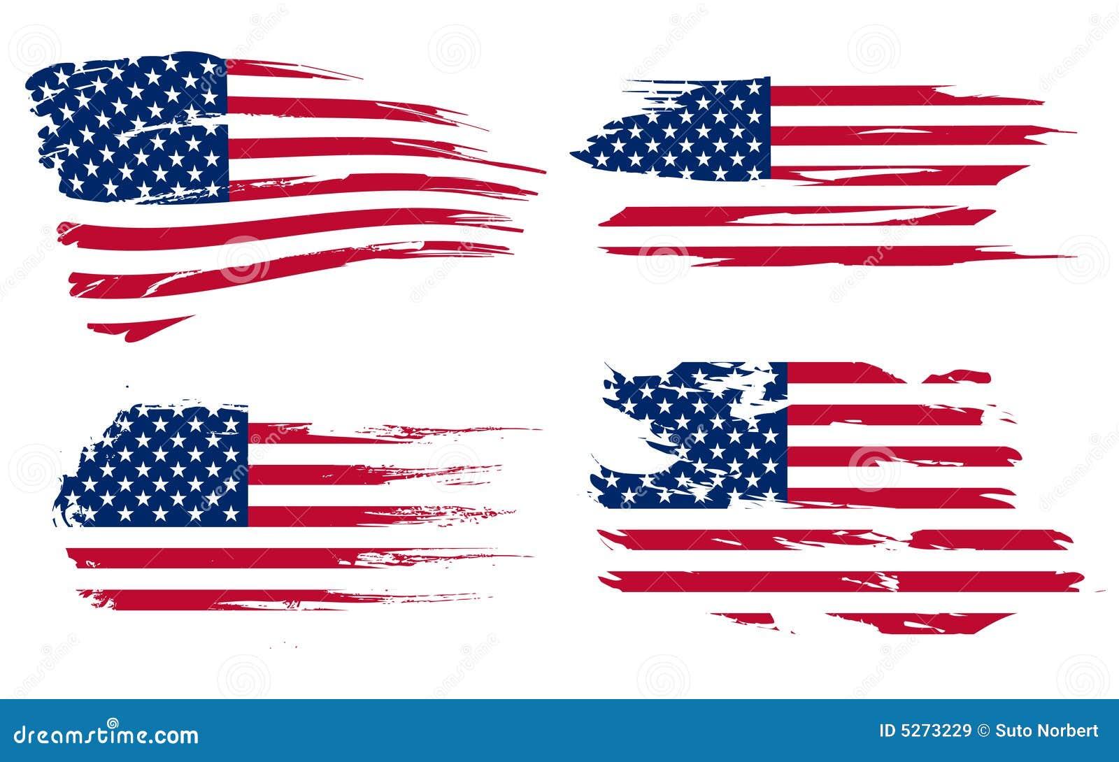 Amerikaanse vlagachtergrond