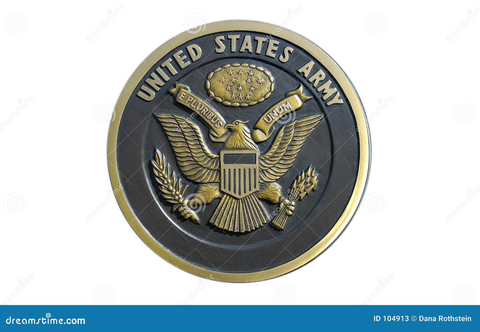 AMERIKANISCHE Armee-Plakette
