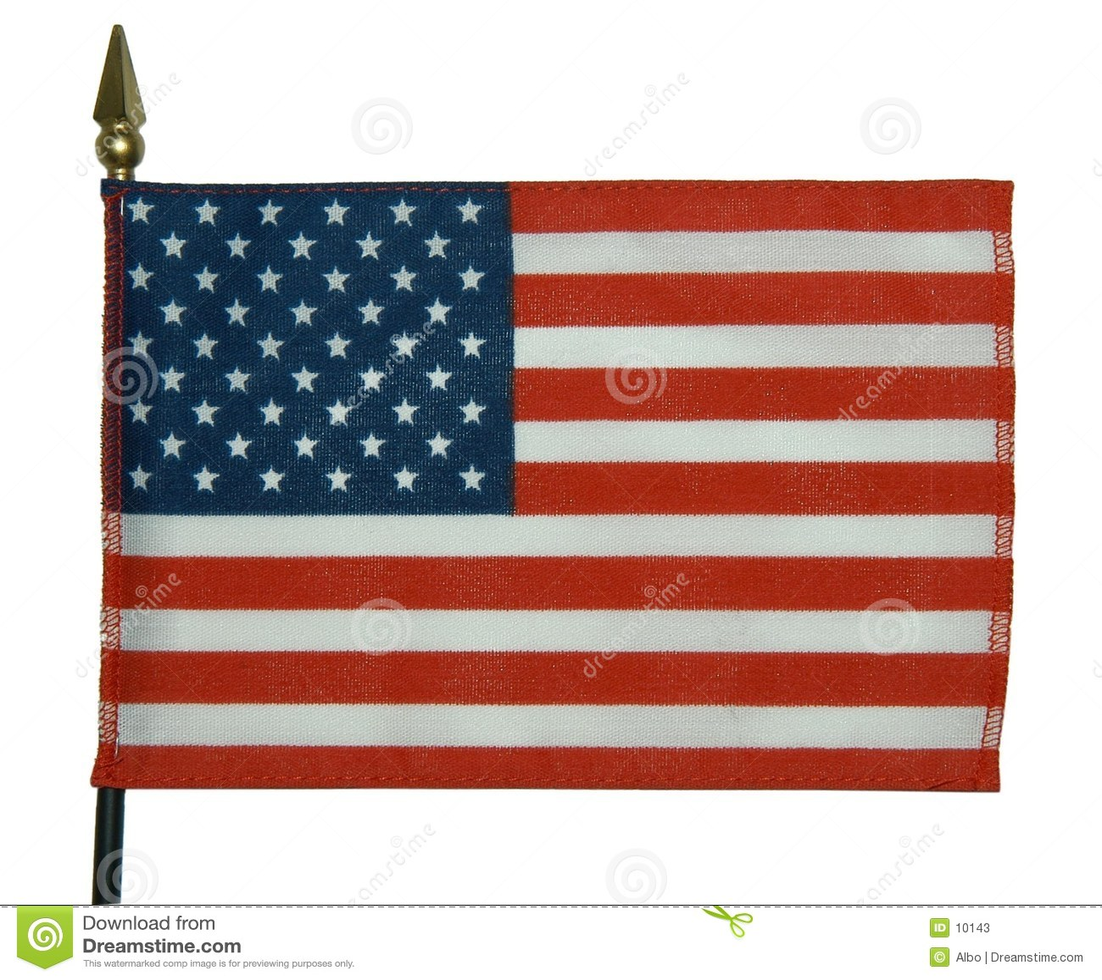 Amerikanische Flagge 3