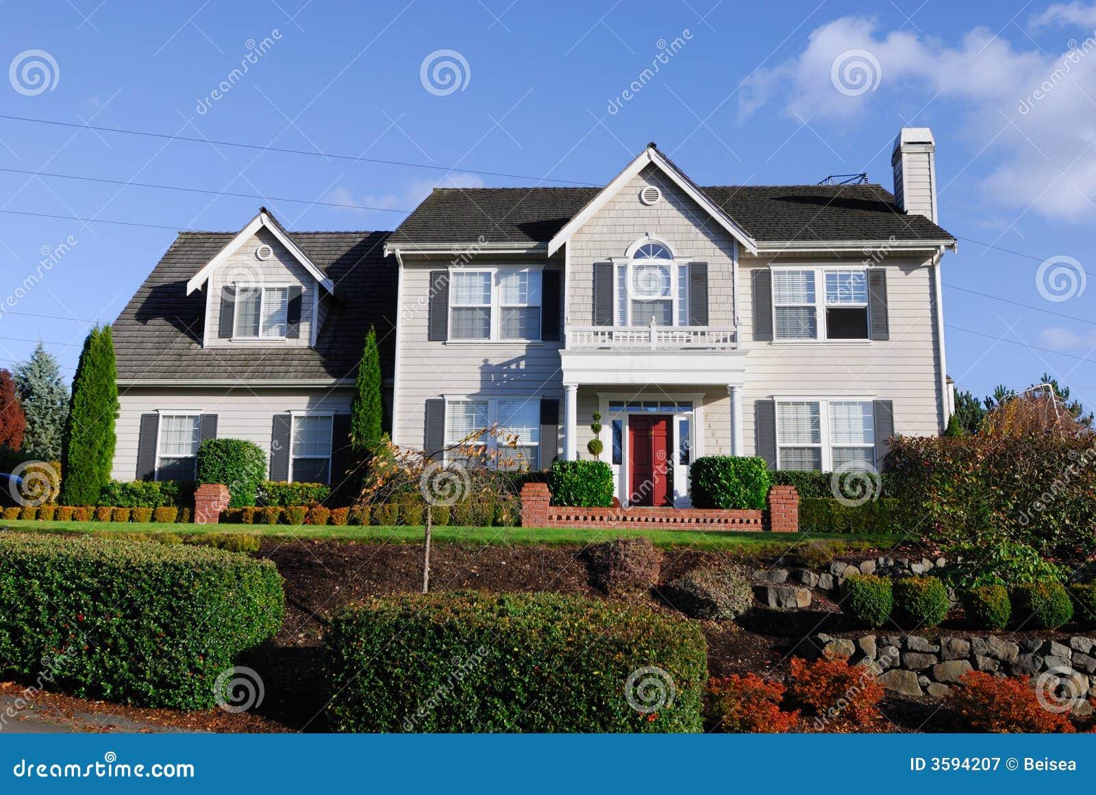 amerikanische haus serie iii lizenzfreie stockfotografie bild 3594207. Black Bedroom Furniture Sets. Home Design Ideas