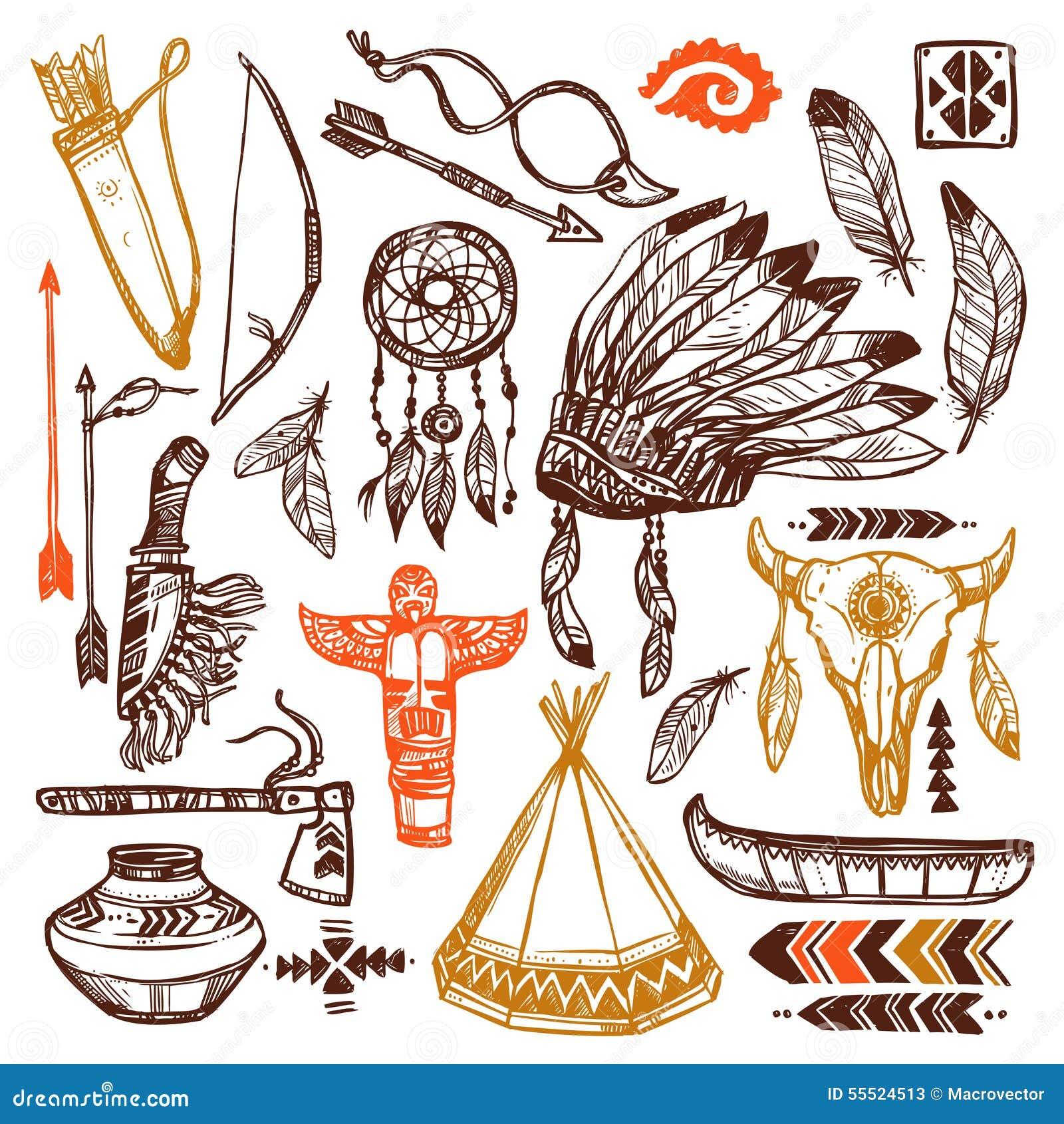 Amerikanische Ureinwohner eingestellt