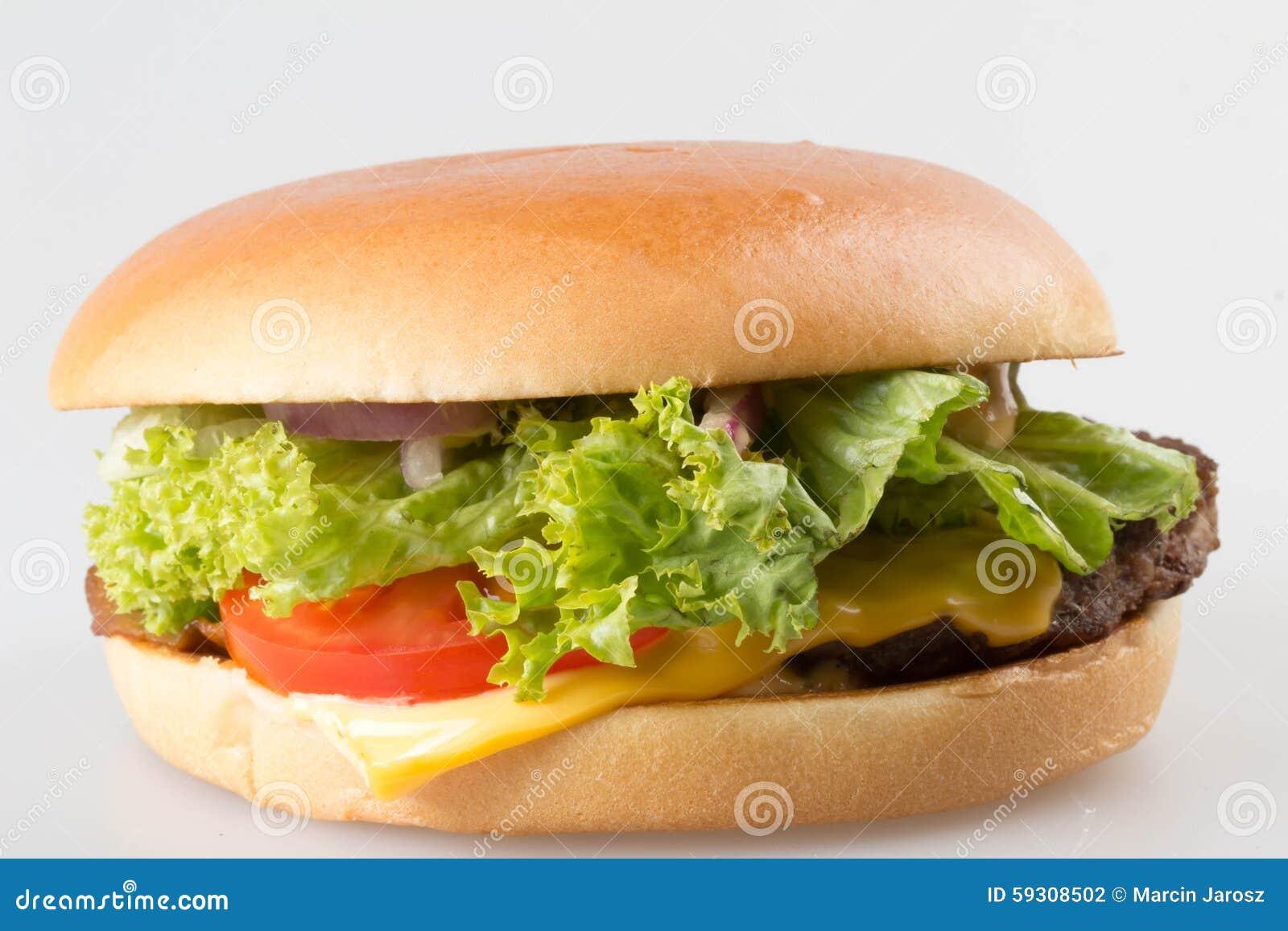 Amerikanischer Hamburger