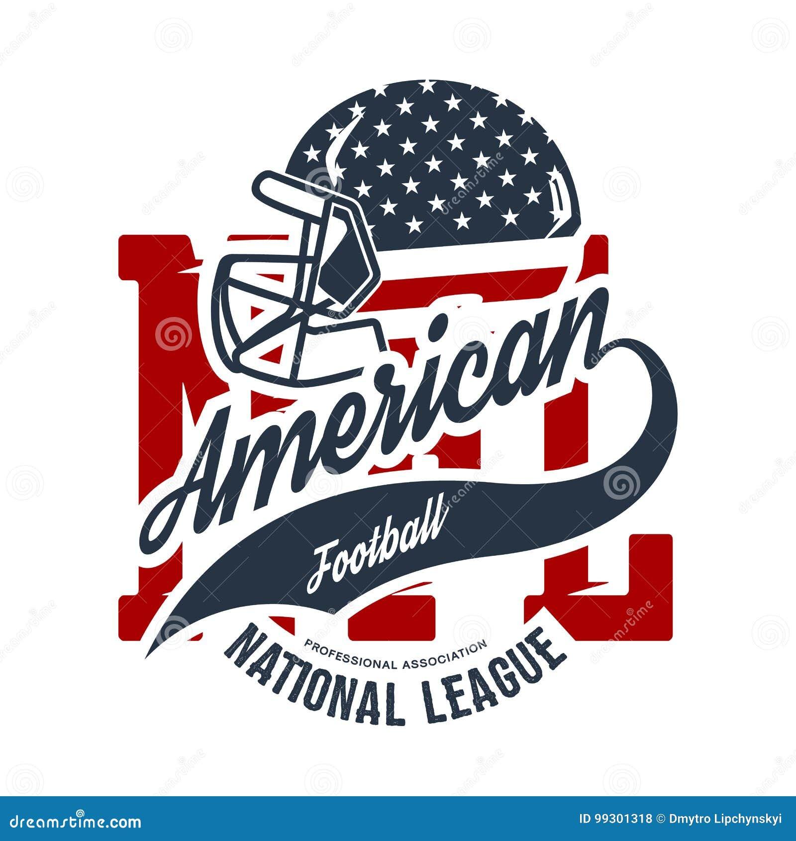 Amerikanisches Football-Helm-T-Stück Druck-Vektordesign auf weißem Hintergrund