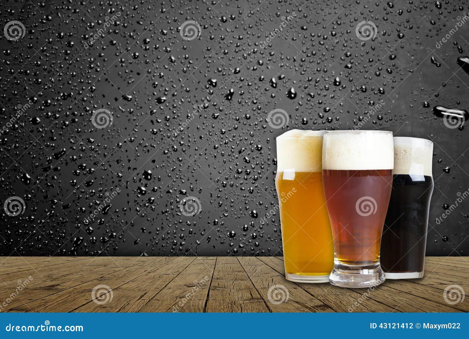 Amerikanisches Handwerks-Bier