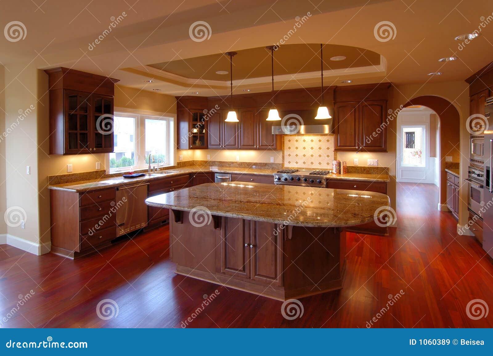 Amerikanisches Luxuxhaus Innenno 4 Stockbild Bild Von Lampe