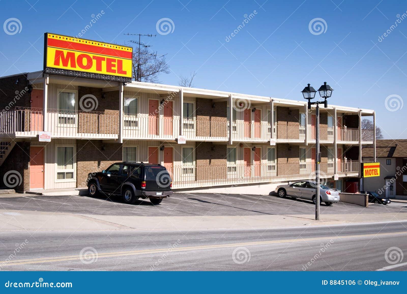 Amerikanisches Motel