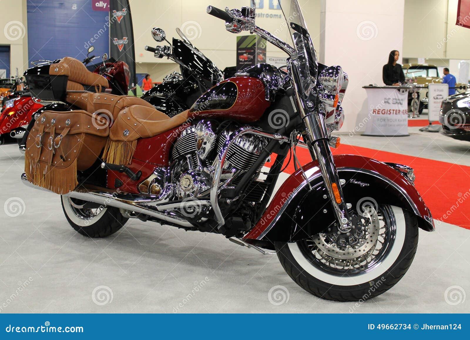 Amerikanisches Polizeimotorrad der Weinlese