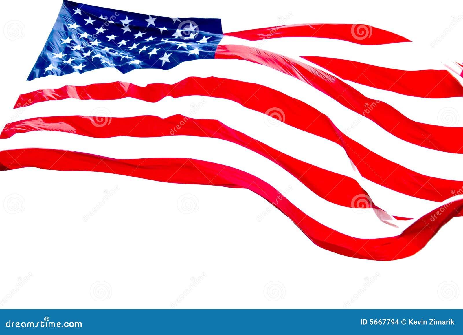 Amerikansk bakgrundsflaggawhite