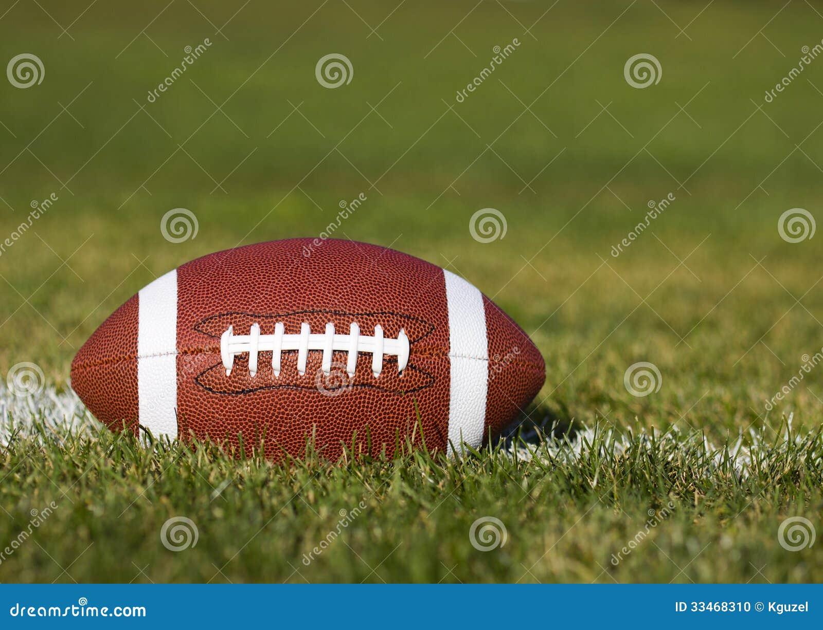 Amerikansk fotboll på fältet
