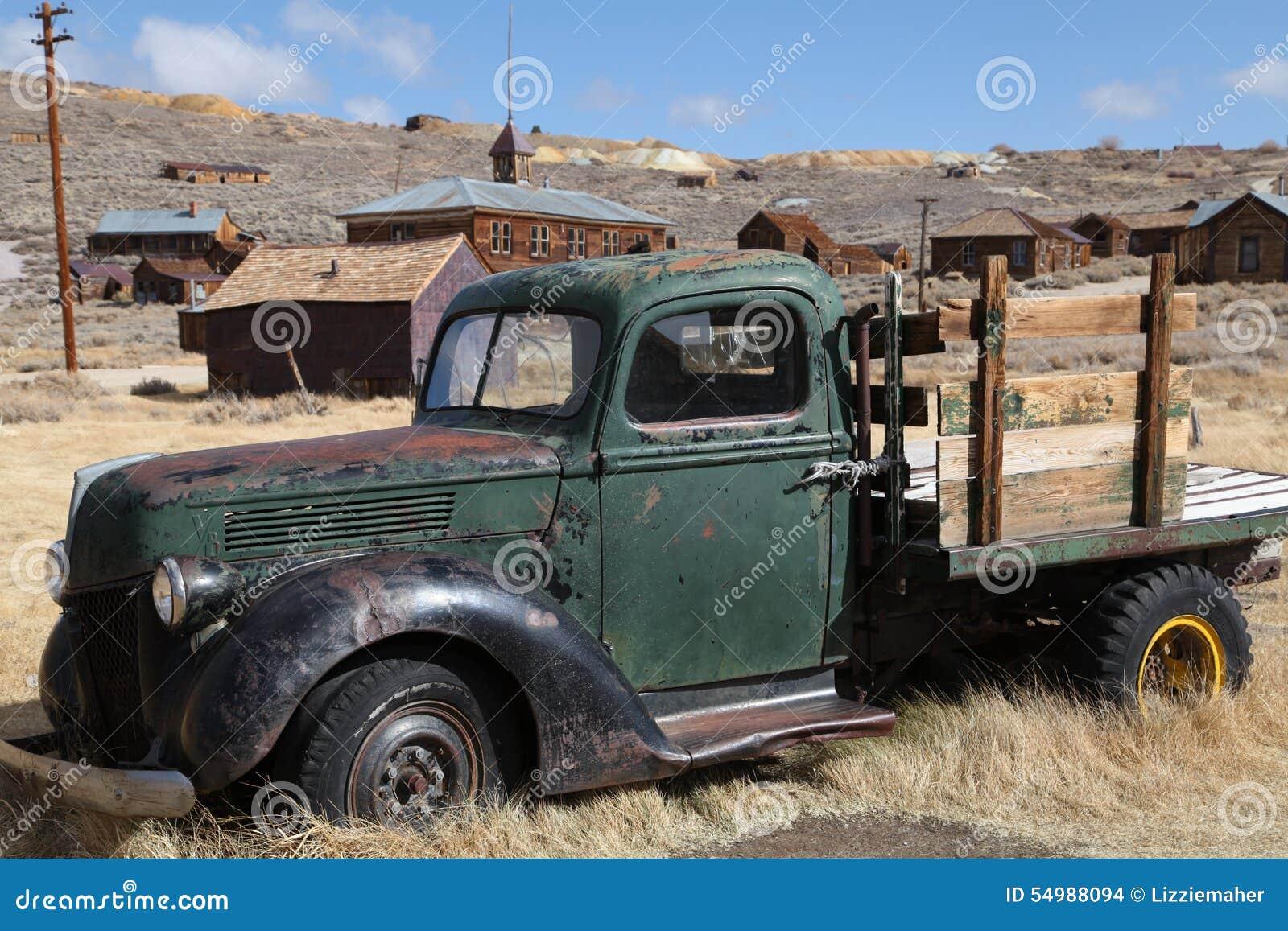 Amerikansk gammal lastbil