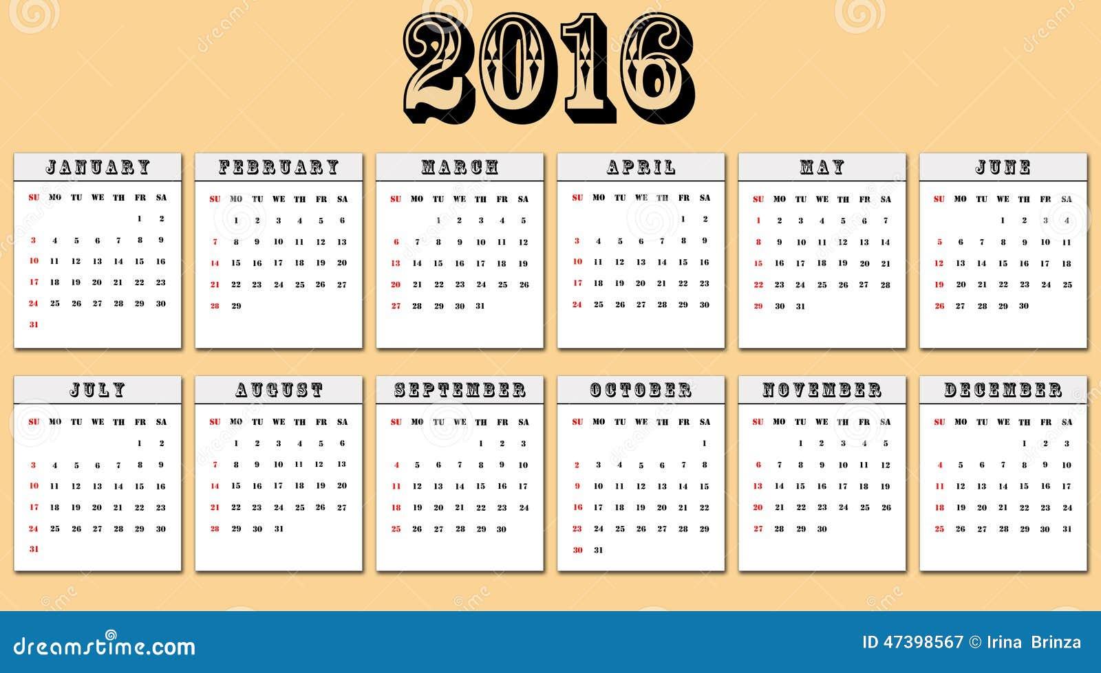 Kalender 2016 Helgdagar   Calendar Template 2016