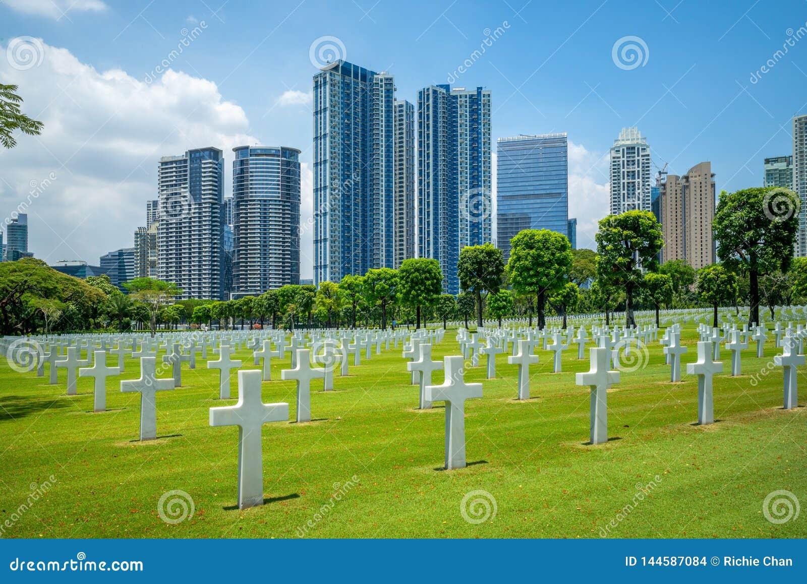Amerikansk kyrkogård och minnesmärke, Manila, Filippinerna